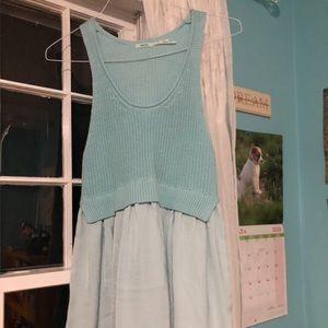 Urban blue dress